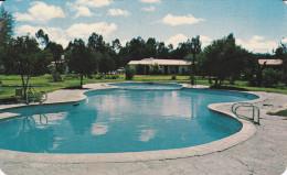"Swimming Pool , Motel ""El Mezquite"" , SAN LUIS POTOSI , S.L.P. , Mexico , 1974 - México"
