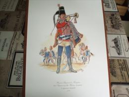 Uniformes ) Fanfaro/ Planche N°27 - L´histoire Des Hussards Prussiens 1721/1807 De Kurt Geiss Et August-wilhelm Stragand - Uniformes