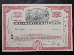 USA - Reading Company - Chemin De Fer & Tramway