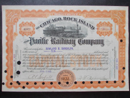 USA - The Chicago, Rock Island And Pacific Railway Company - Chemin De Fer & Tramway