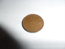 20 Centimes Type Mineur 1960  (légende Néerlandais) - 1951-1993: Baudouin I