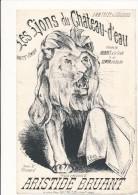 Les Lions Du Chateau D'Eau - Aristide BRUANT - Spartiti