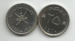 Oman 25 Baisa  1410.  (1989) UNC - Oman