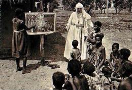 KAHEMBA     H2     Mission De KAHEMBA.Leçon De Catéchisme - Congo Belga - Otros