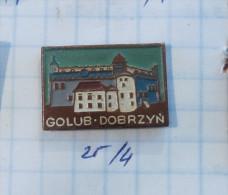 GOLUB DOBRZYN Castle - (Poland) / Schloss Chateau, City Stadt Ville Town - Cities