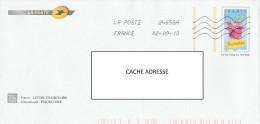 France : Lettre Avec Timbre Pré-imprimé - France