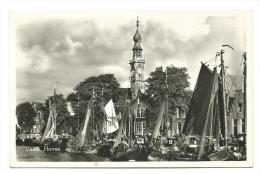 Nederland Briefkaart - Veere - Haven - Kerk - Schip - Ship - Port - Church - Uitg. Rubens - Nederland
