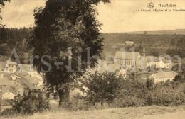 Postkaart / Post Card / Carte Postale / Houffalize / Le Prieuré, L'Eglise Et Le Cimetière - Houffalize