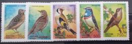 Russia, 1995, Mi: 440/44 (MNH) - Pájaros Cantores (Passeri)