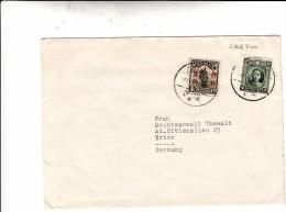 Chefoo, Yantai. China. Cover To Germany 1933 - China