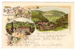 AK BL Bad Ruch-Eptingen Gruss Aus Litho Jacobsen´s 6.8.1900 Eptingen - BL Bâle-Campagne