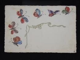 CARTE POSTALE - Collage De Découpes De Timbres Sur Cp  - à Voir - Lot P9675 - Timbres (représentations)