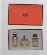 COFFRET HERMES- Calèche,Parfum D´Hermès, Amazone - Perfume Miniatures
