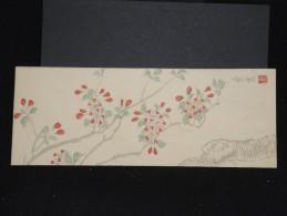 JAPON - Enveloppe Peinte à La Main - Style Valentine -  à Voir - Lot P9682 - Covers & Documents
