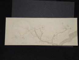 JAPON - Enveloppe Peinte à La Main - Style Valentine -  à Voir - Lot P9685 - Covers & Documents