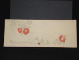 JAPON - Enveloppe Peinte à La Main - Style Valentine -  à Voir - Lot P9688 - Covers & Documents