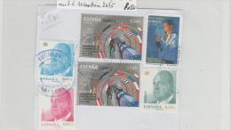 Spanien028 / Fragment  Mit 6 Marken   2015  O - 1931-Heute: 2. Rep. - ... Juan Carlos I