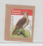 Belgien012/ Einschreiben, Vogelmarke  2014 O - Belgien