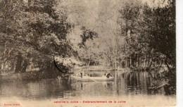 CPA 91 JANVILLE SUR JUINE EMBRANCHEMENT DE LA JUINE - France