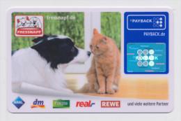 Payback Karte - Fressnapf - Tolles Katzen / Hunde Motiv !!!!!!!!! - Gift Cards