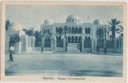 CPA LIBYE LIBYA LIBIA TRIPOLI Palazzo Governatoriale 1935 - Libyen