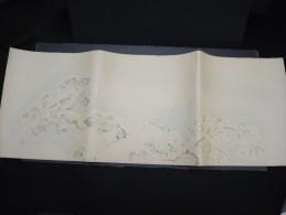 JAPON - Document Peint à La Main  - Papier à Lettre -  à Voir - Lot P9697 - Covers & Documents