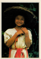 MAE SARIANG:  GIOVANE  RAGAZZA  KAREN      (NUOVA CON DESCRIZIONE DEL SITO SUL RETRO) - Tailandia