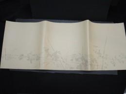 JAPON - Document Peint à La Main  - Papier à Lettre -  à Voir - Lot P9701 - Covers & Documents