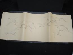 JAPON - Document Peint à La Main  - Papier à Lettre -  à Voir - Lot P9702 - Covers & Documents