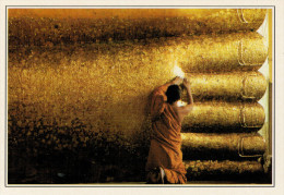 SING BURI:   IL WAT PHRA NIN CHAK SI      (NUOVA CON DESCRIZIONE DEL SITO SUL RETRO) - Tailandia