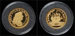 Germany Brandenburg Gold Guinea-dukat 1683- Restrike 2003 - [10] Commémoratives