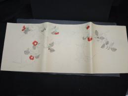 JAPON - Document Peint à La Main  - Papier à Lettre -  à Voir - Lot P9703 - Covers & Documents