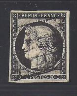 CERES  N° 3 -  Cote : 60 € - 1849-1850 Cérès