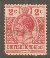 BRITISH HONDURAS  Scott  # 76 VF USED - British Honduras (...-1970)