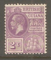BRITISH GUIANA  Scott  # 193* VF MINT HINGED - British Guiana (...-1966)