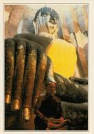 SAKHOTHAI:   BUDDHA  SEDUTO   (NUOVA CON DESCRIZIONE DEL SITO SUL RETRO) - Tailandia