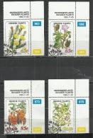 CISKEI 1993 - INVADER PLANTS - CPL. SET - USED OBLITERE GESTEMPELT USADO - Toxic Plants