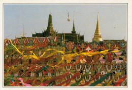 BANGKOK:  IL  WAT PHRA KEO   (NUOVA CON DESCRIZIONE DEL SITO SUL RETRO) - Tailandia