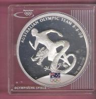 AUSTRALIE DOLLAR 2008 AG PROOF AUSTRALIAN OLYMPIC TEAM BEIJING - Dollar