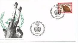 ONU NACIONES UNIDAS GENEVE 1971 AYUDA A REFUGIADOS - Refugiados