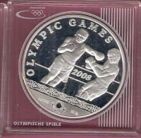 KAZACHSTAN 100 TENGE 2008 AG PROOF OLYMPICS BOXING - Kazakhstan