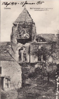 CPA 1914-1915 CHIVRES-SUR-AISNE (Chivres-en-Laonnois) - L´Eglise, IR 52 (A118, Ww1, Wk 1) - Unclassified
