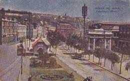 Chile Valparaiso Avenida del Brasil Street Scene