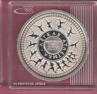 BELARUS WIT RUSLAND 20 RUBEL 2006 AG PROOF OLYMPICS BEIJING RUNNERS IN CIRCLE - Belarus