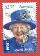 AUSTRALIA USATO - 2015 - Compleanno Regina Elisabetta II - Queen Elizabeth II Birthday - $ 2,75 - Michel ---- - 2010-... Elizabeth II