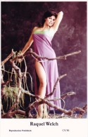 RAQUEL WELCH - Film Star Pin Up - Publisher Swiftsure Postcards 2000 - Artistes