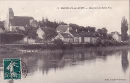 CPA - 51 - MARCILLY Sur SEINE - Quartier De Belle Vue - 3 - Autres Communes