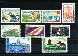 Afars 1967/1974  ( Thèmes Divers - 9 Valeurs ) - Usati