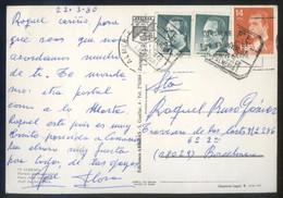 TP Circulada Matasello *S.P.E. - Aguadulce. Almería. 23 Marzo 1987* Doble Matasello, Error En Fecha. - Otros