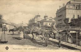 63 La Bourboule. La Place Aux Anes - La Bourboule